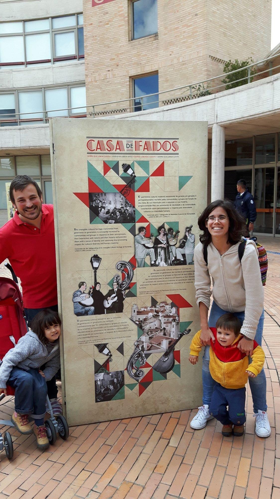 Bem no centro de Bogotá, a exposição Casa de Fados acompanhou o Festival de Fado que teve lugar em junho.