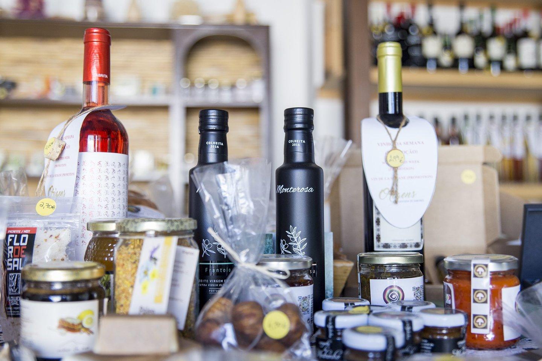 loja, origens, algarve, roteiro algarve, souvenirs, vinhos, vinho, comércio, produtos regionais,