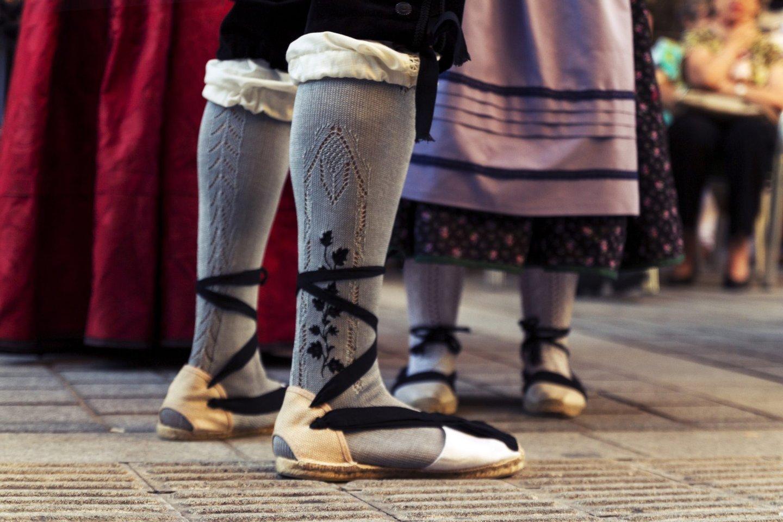 Traditional Dancing, Sock, Skirt, Dancing, Cultures, Aragon, Spain, Shoe,