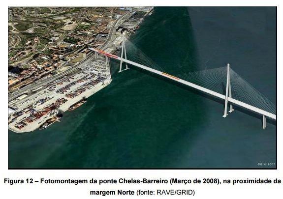 ponte chelas barreiro foto