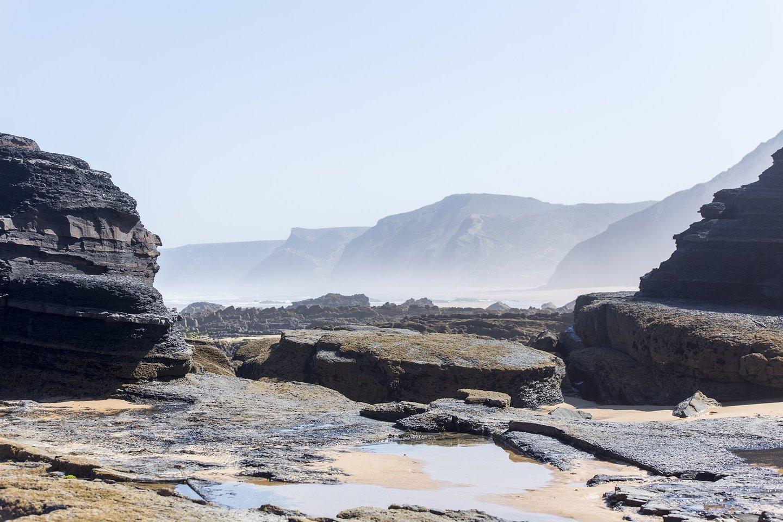 praia, praia do castelejo, castelejo, algarve, roteiro algarve, mar, areia, ondas, 2016,