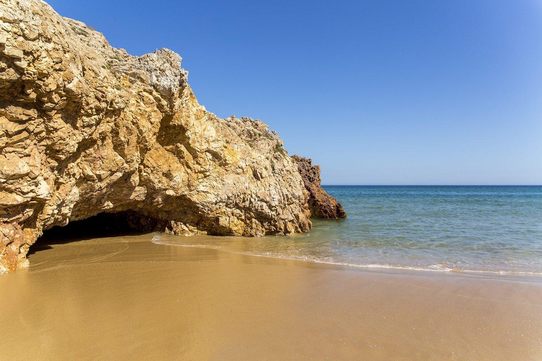 praia, praia das furnas, furnas, algarve, roteiro algarve, mar, areia, rochas, 2016,