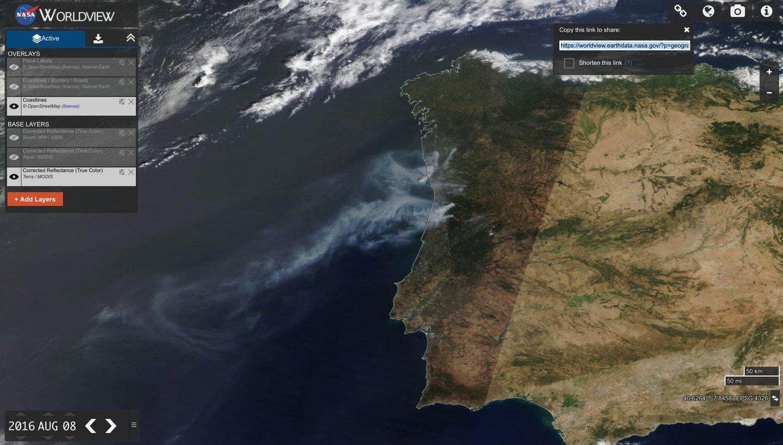 mapa dos fogos O mapa dos maiores incêndios em Portugal continental.5 são em  mapa dos fogos