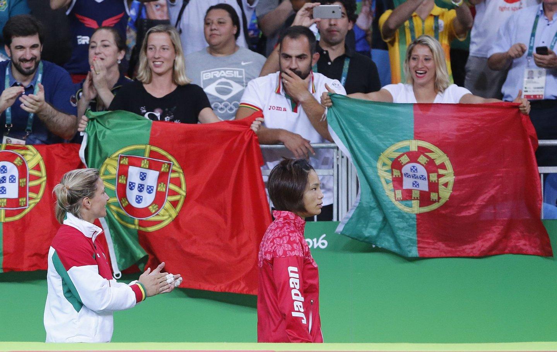 Judo. Combate de atribuição da medalha de bronze. Jogos Olímpicos Rio 2016.