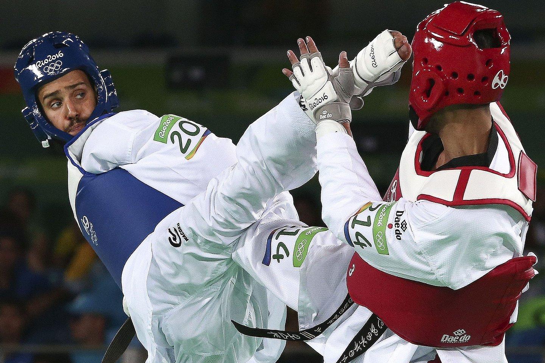 Rio2016: Rui Bragança nos quartos de final da categoria -58kg do taekwondo