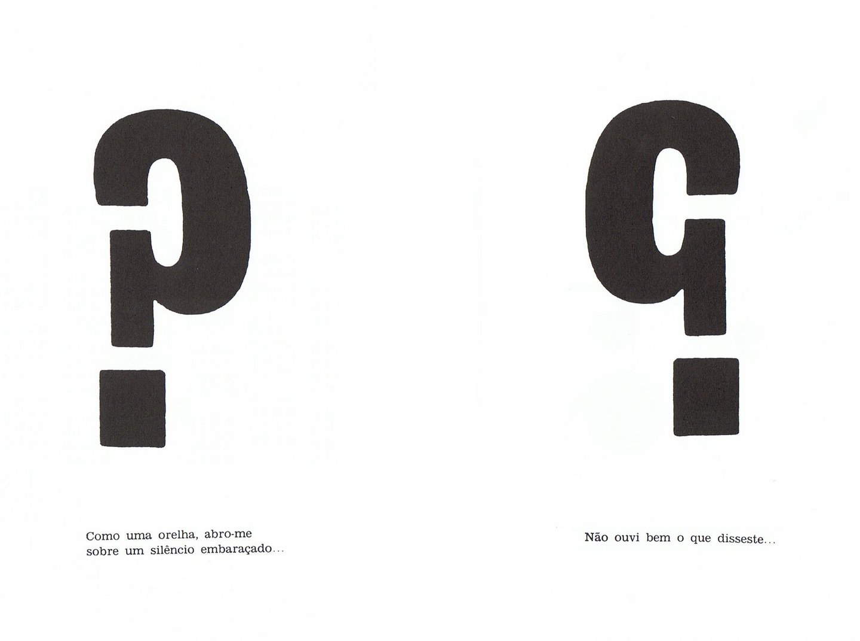 Poema: Divertimento com sinais ortográficos, 1960
