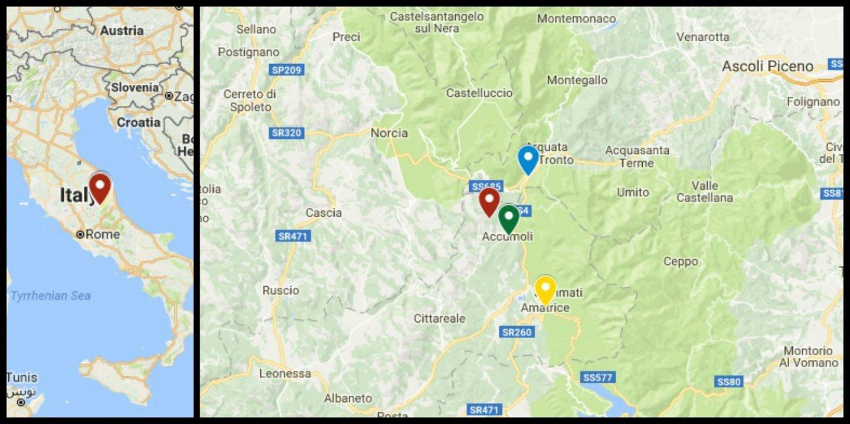 mapa italia 2