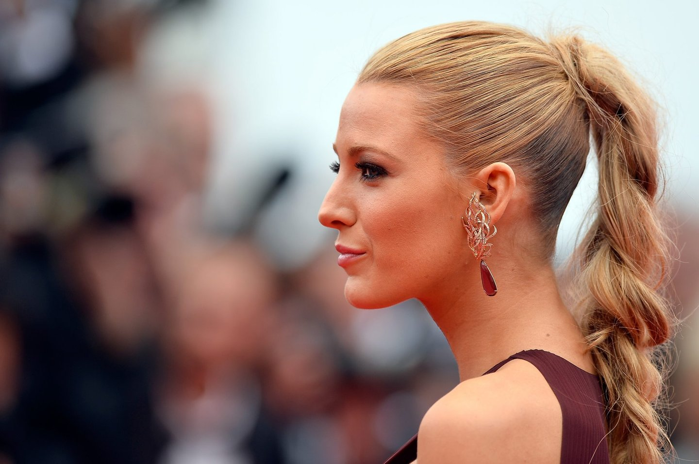 """CANNES, FRANCE - MAY 14: Blake Lively attends the Opening ceremony and the """"Grace of Monaco"""" Premiere during the 67th Annual Cannes Film Festival on May 14, 2014 in Cannes, France. (Photo by Pascal Le Segretain/Getty Images)"""