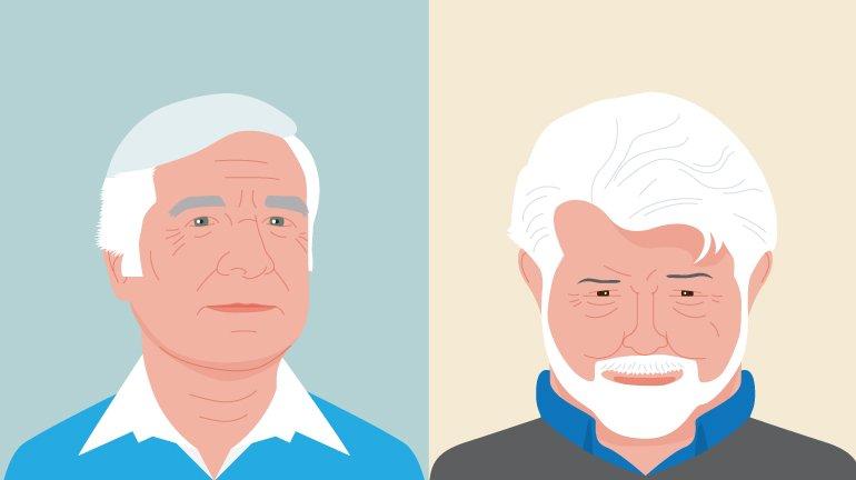 Gene e George: estiveram, bem, miúdos, muito bem