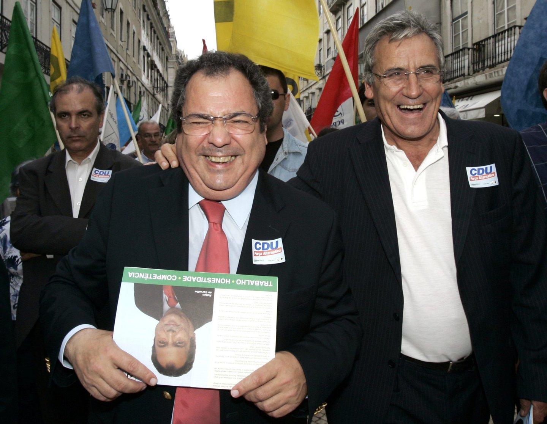 CDU, ELEICOES AUTARQUICAS, JERONIMO DE SOUSA, RUBEN CARVALHO,