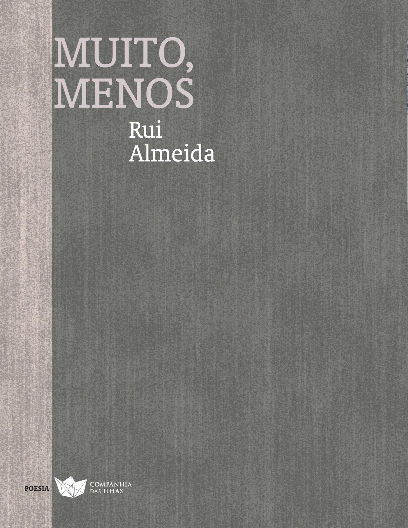 Este é o quinto livro de poesia Rui Almeida, nascido em 1972