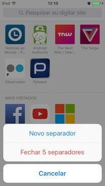 Truques iOS5