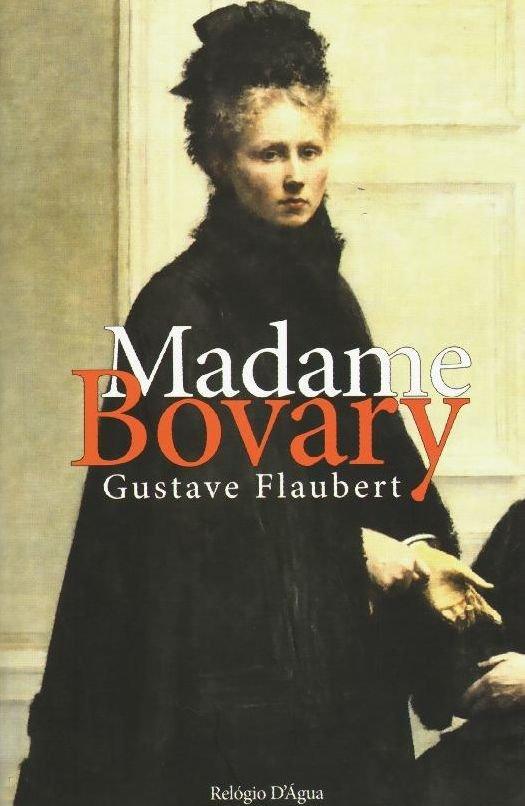 Madame Bovary na edição da Relógio D' Água