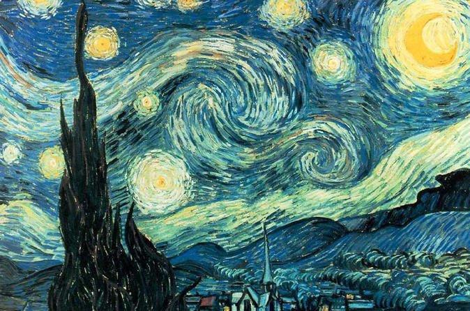 Para o pintor impressionista Vicent Van Gogh o céu da noite era azul claro