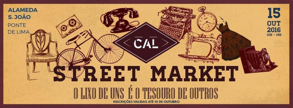 Mercado Vintage em Ponte de Lima.