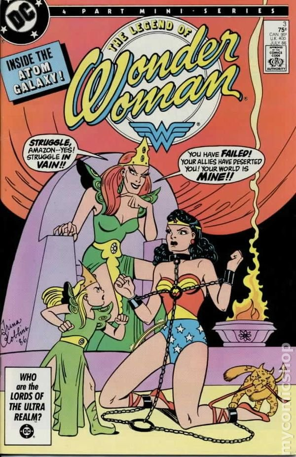 The legend of Wonder Woman #3, Julho 1986 ©DC Entertainment