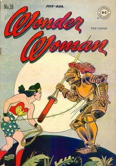Wonder Woman #18, Julho de 1946 ©DC Entertainment