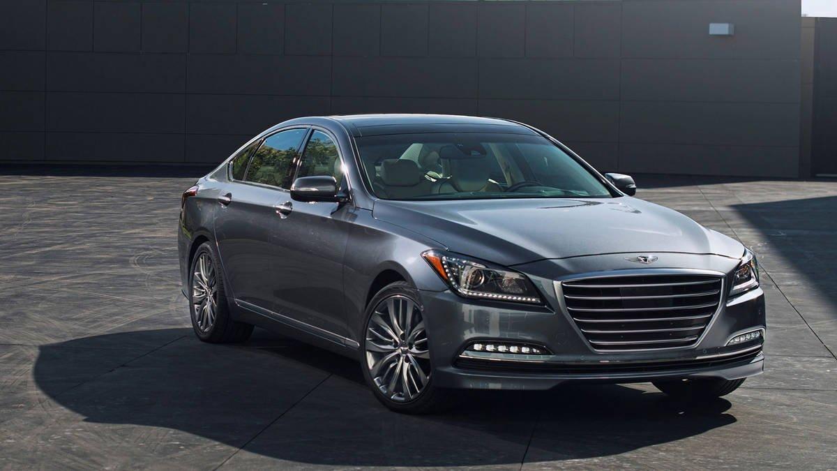 O Hyundai Genesis não é comercializado em Portugal