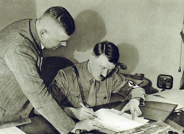 Hitler Signs Document
