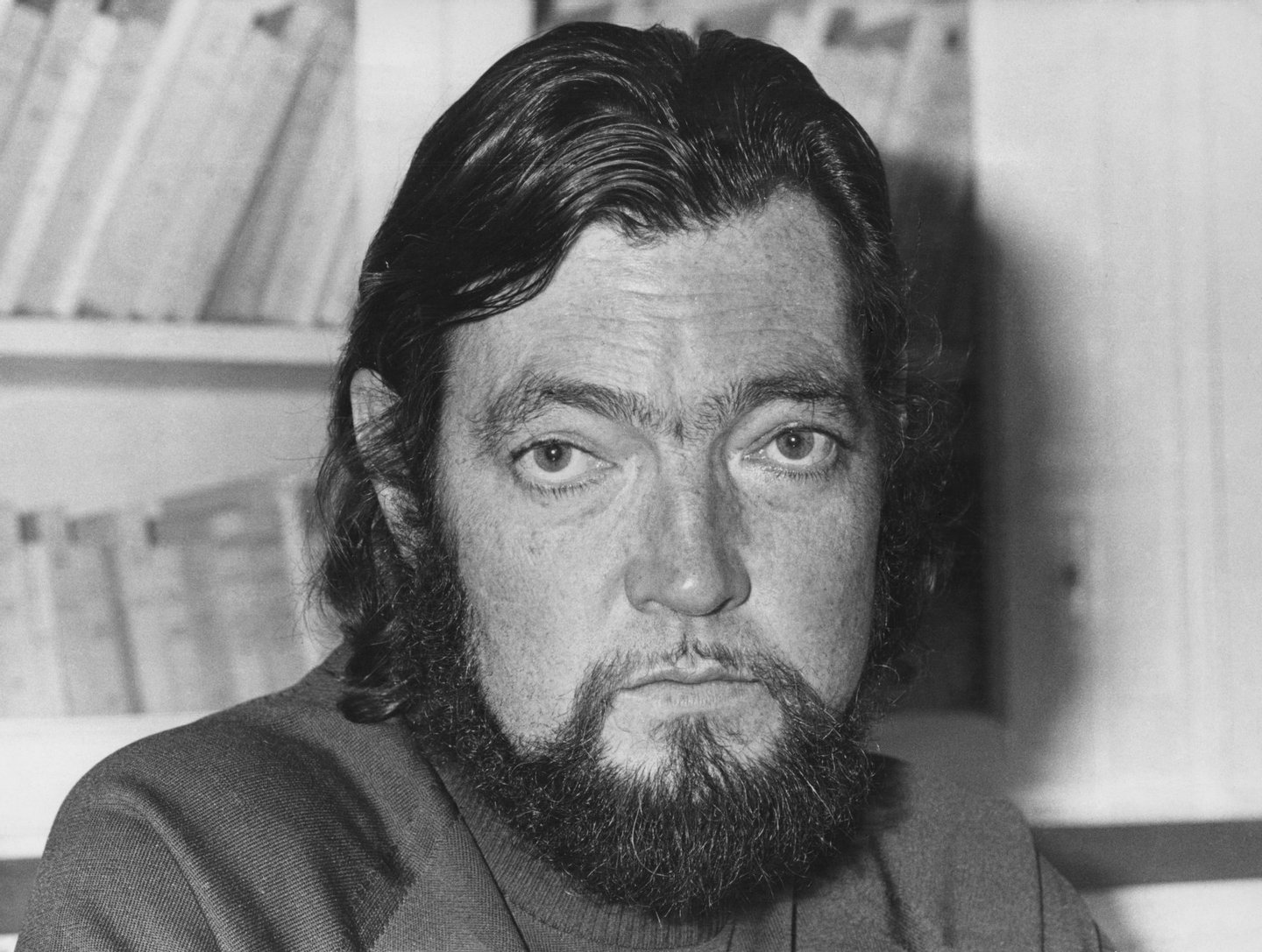 Argentine writer Julio Cortazar, circa 1974. (Photo by AFP/Pictorial Parade/Getty Images)