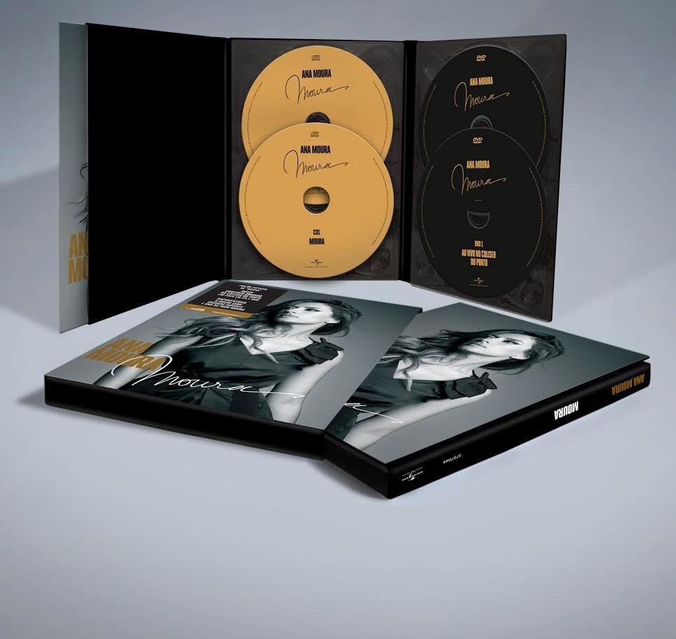Ana Moura Super Deluxe digipack