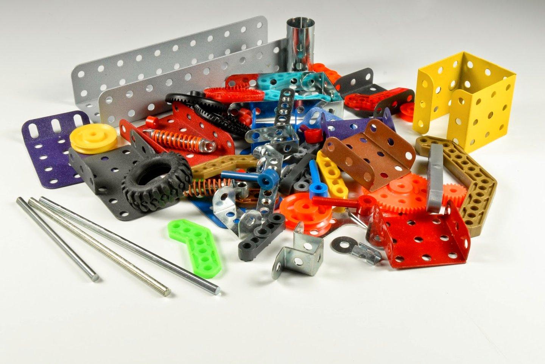 O infindável universo dos brinquedos Meccano foi outra das apostas da Concentra ainda nos ano 70