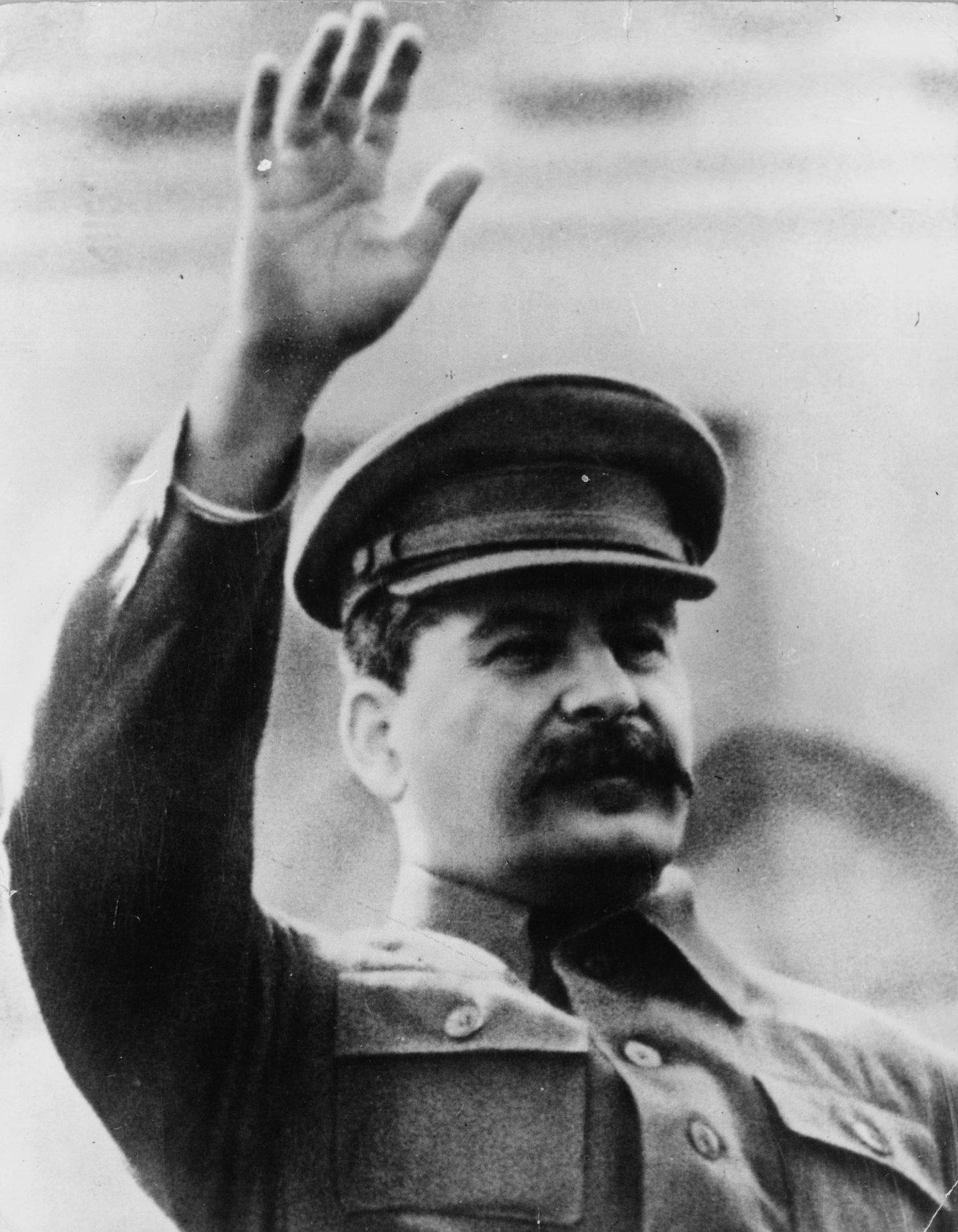 1949: Soviet statesman and Premier Joseph Stalin (1879 - 1953). (Photo by Keystone/Getty Images)