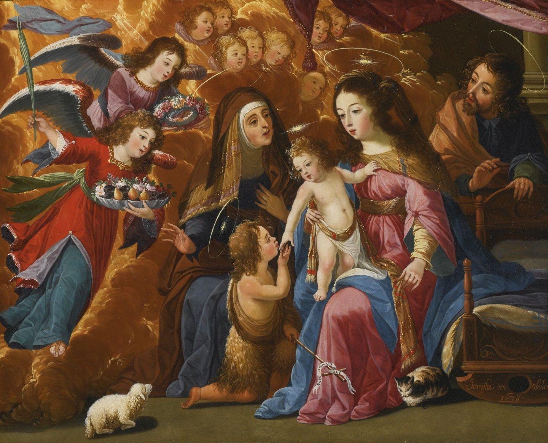 Josefa_de_Óbidos_-_A_Sagrada_Família_com_São_João_Batista,_Santa_Isabel_e_Anjos