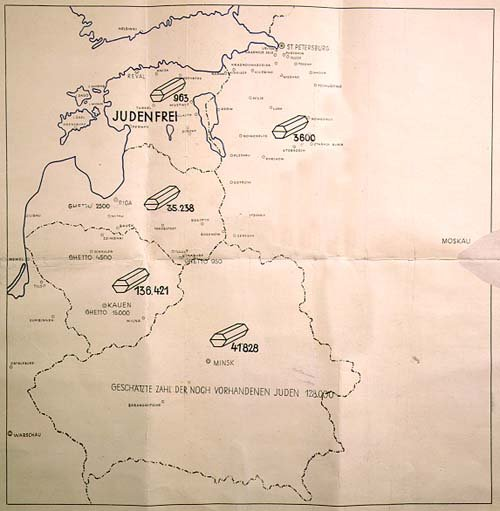 Map_used_to_illustrate_Stahlecker's_report_to_Heydrich_on_January_31,_1942