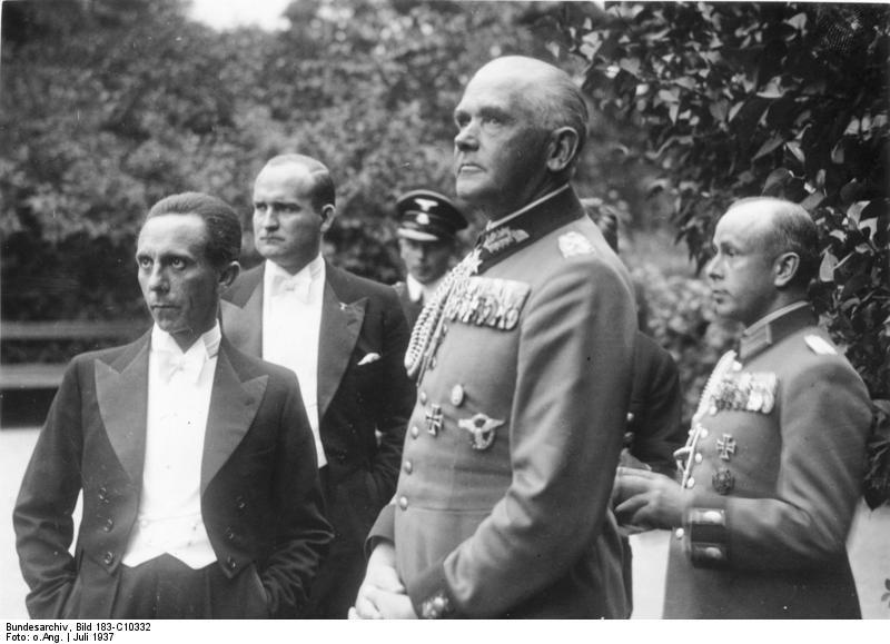 Bayreuth, Festspiele, Joseph Goebbels, Werner v. Blomberg