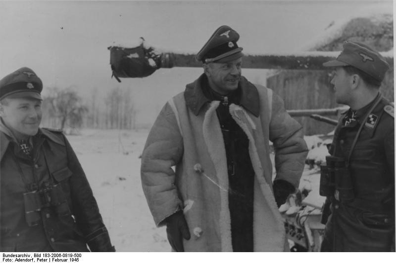 Heinz Harmel, SS-Brigadeführer u. Generalmajor