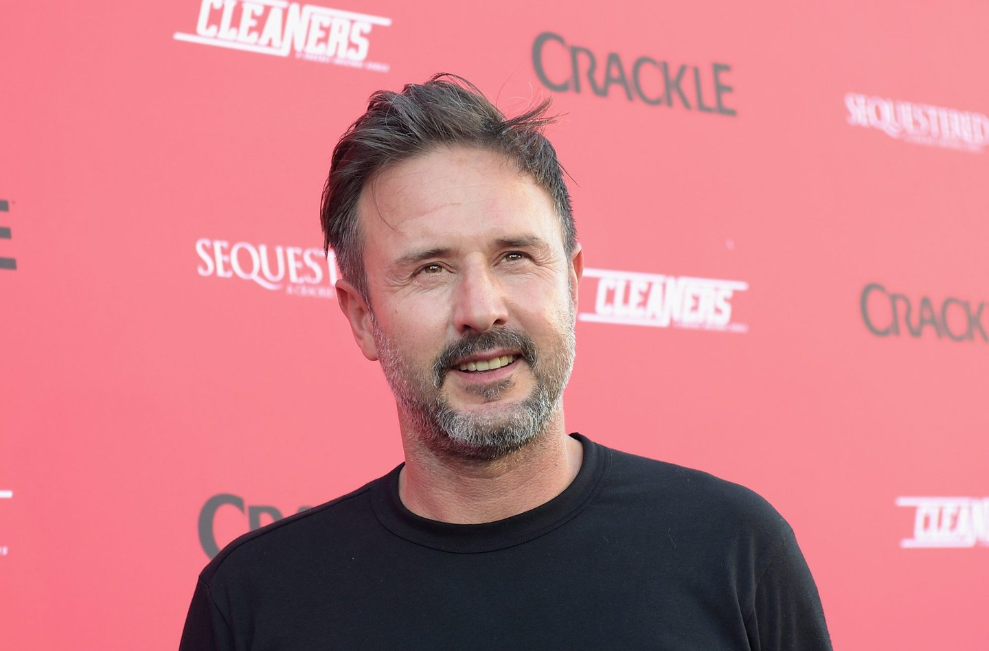 """WEST HOLLYWOOD, CA - AUGUST 14: Actor David Arquette attends Crackle's Summer Premieres Event Celebrating The Launch Of """"Sequestered"""" And """"Cleaners"""" Season 2 at 1 OAK on August 14, 2014 in West Hollywood, California. (Photo by Jason Kempin/Getty Images)"""