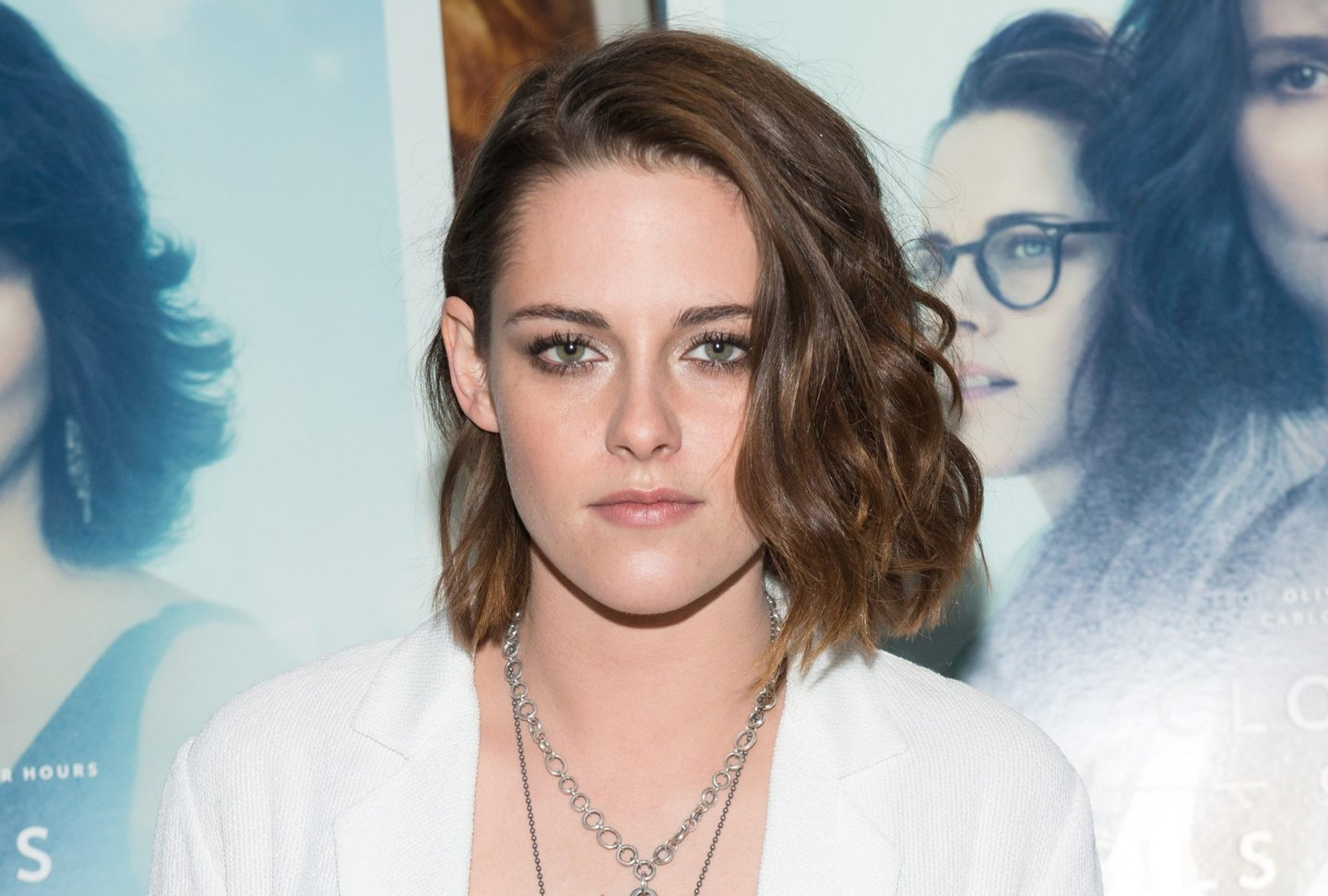 """NEW YORK, NY - JANUARY 03: Actress Kristen Stewart attends a screening of """"Clouds Of Sils Maria"""" at IFC Center on January 3, 2016 in New York City. (Photo by Noam Galai/Getty Images)"""