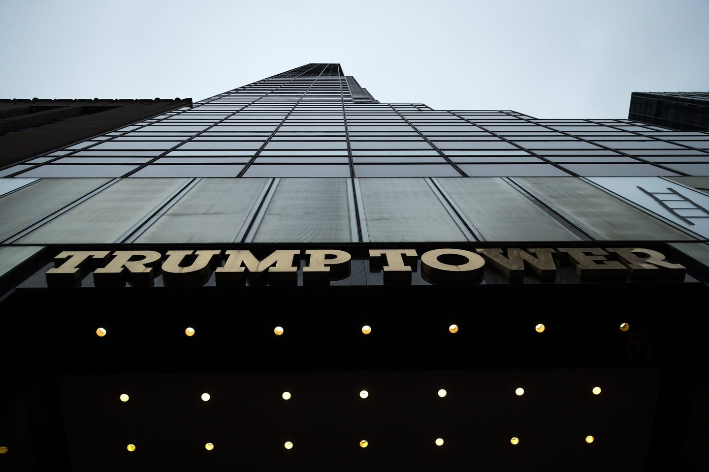 NEW YORK, NEW YORK - SEPTEMBER 29: A general view of Trump Tower on Fifth Avenue, September 29, 2016 in New York City. The building is owned by Republican presidential candidate Donald Trump. (Photo by Drew Angerer/Getty Images)