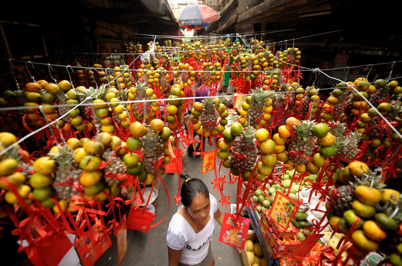 Chinatown em Manila.