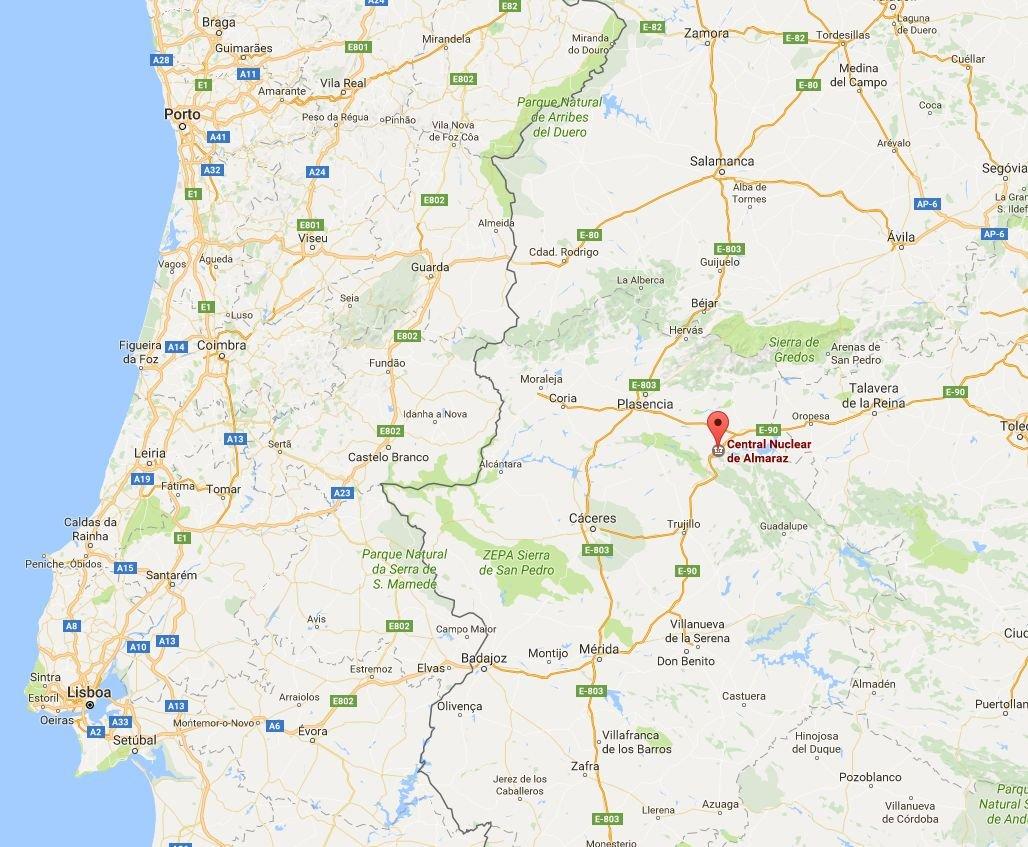 centrais nucleares em espanha mapa Almaraz. A central nuclear é mesmo uma bomba relógio? – Observador centrais nucleares em espanha mapa