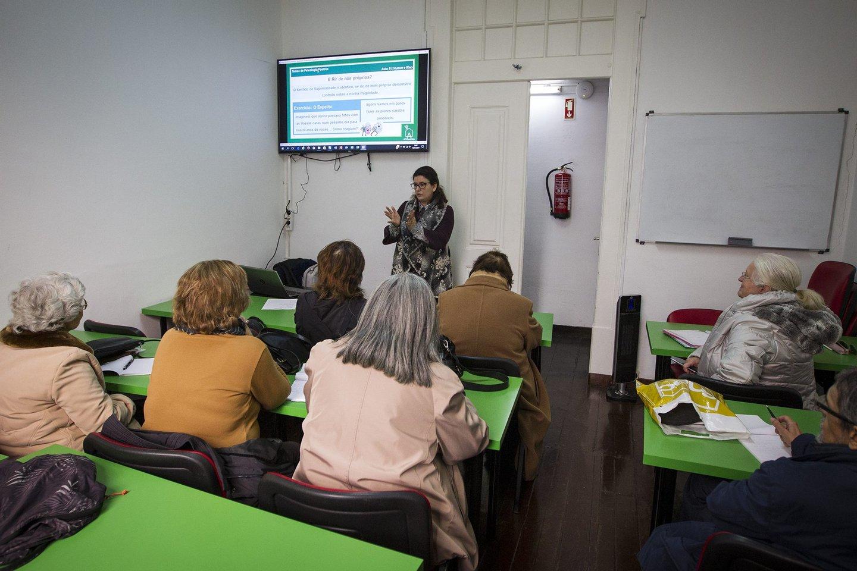 UITI, universidade internacional da terceira idade, Lisboa, Rua das Flores, 2017, terceira idade,