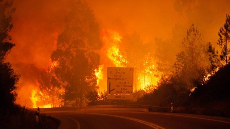Incêndio com várias frentes. Aldeias evacuadas por precaução - como  aconteceu 3f3e92fcd05b2