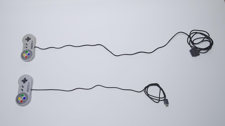 snes comparação cabos