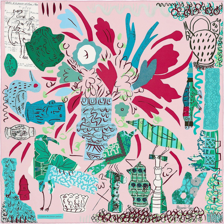 e6ca90261c9 Bela Silva é a primeira portuguesa a desenhar um lenço para a Hermès ...