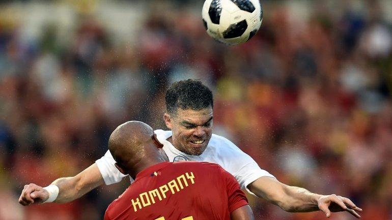 aaca540fad Portugal empata em Bruxelas com a Bélgica (0-0) no penúltimo teste antes do  Mundial - como aconteceu
