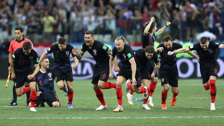 Croácia elimina Dinamarca nas grandes penalidades e está nos quartos (3-2).  Seleção Nacional já aterrou em Lisboa - como aconteceu 8e2ad5661fbaf