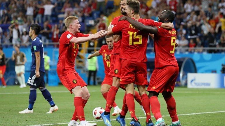 ac63ce1d7b No último minuto Bélgica vence Japão e qualifica-se para os quartos (3-2).  Brasil bateu o México (2-0) e segue em frente no Mundial - como aconteceu