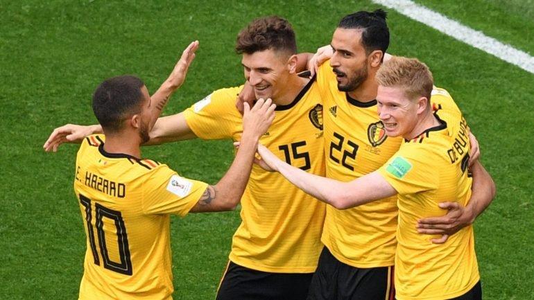 Bélgica vence Inglaterra por 2-0 e consegue melhor classificação de sempre  no Mundial  3.º lugar - como aconteceu 1e484e7e8af92