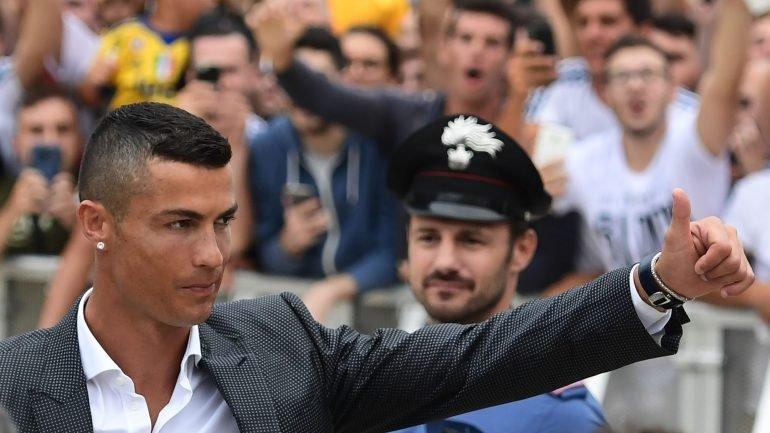 """d4dc7c44e9 Ronaldo apresentado pela Juventus  """"Estarei preparado"""