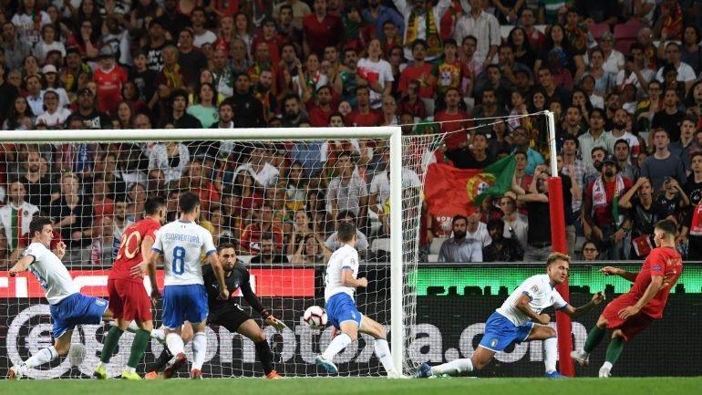 bd37fa7118 Portugal vence Itália com golo de André Silva e assume liderança do grupo -  como aconteceu