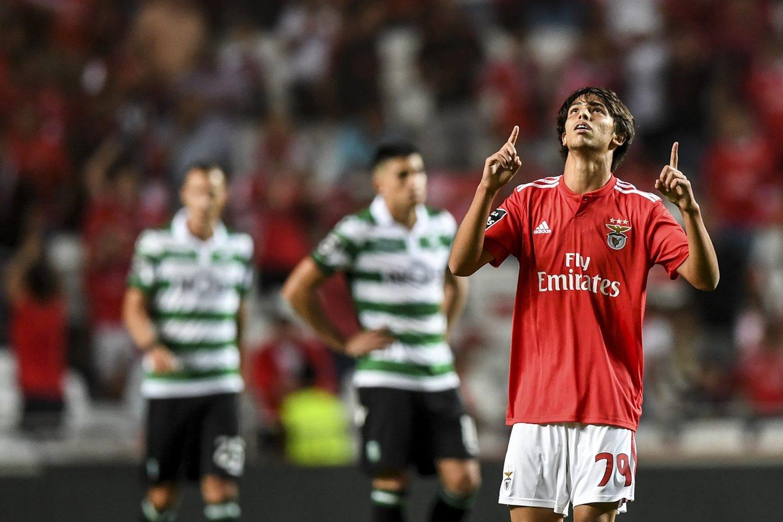 ... a ter um início de época de sonho  depois da afirmação no Benfica e do  golo ao Sporting 389cd57700b86