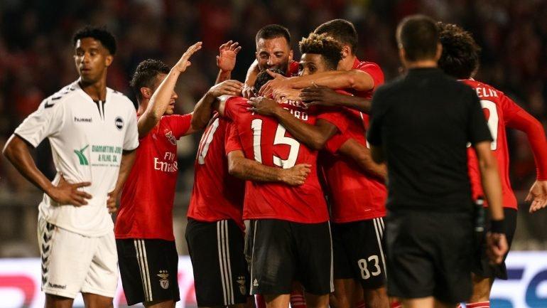 b5c4afd499 Benfica vence Sertanense por 3-0 e qualifica-se para a quarta eliminatória  da Taça de Portugal - como aconteceu