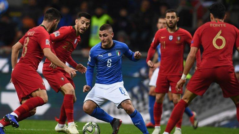 Itália-Portugal. Seleção Nacional empata sem golos e está na final four da  Liga das Nações (0-0) - como aconteceu 2576255b2cf48