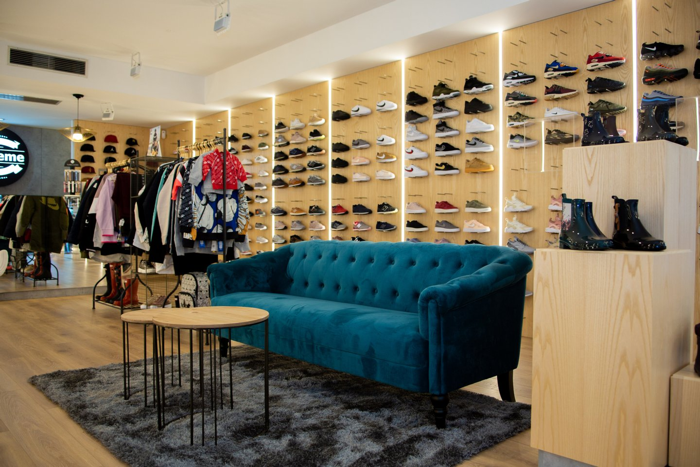 Extreme Urban Footwear abriu no Chiado e é a 15ª loja de uma cadeia  portuguesa © Divulgação 091a2b0fa5e